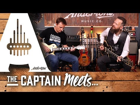The Captain Meets - Bruce John Dickinson From Little Angels - Andertons Music Co.