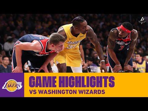 HIGHLIGHTS | Los Angeles Lakers vs. Washington Wizards