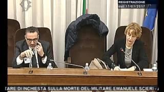 Roma - Audizione di due carabinieri (082.02.17)