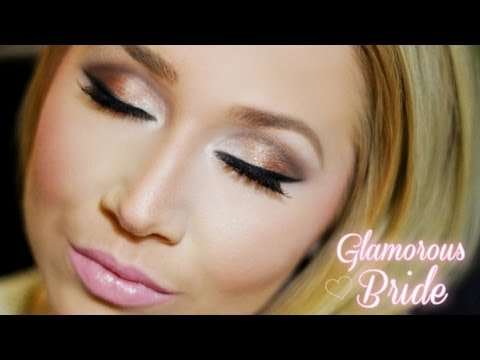 Glamorous Bridal Makeup Featuring Urban Decay S 2 Palette