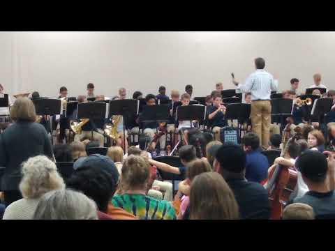 6th grade band at Koontz Intermediate School(3)