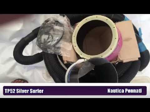 Tp52 SilverSurfer nautica pennati