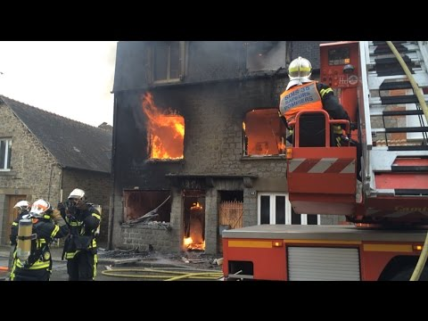 incendie route de lorient 22 avril 2017 doovi. Black Bedroom Furniture Sets. Home Design Ideas