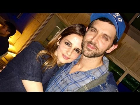 Hrithik Roshan Spotted With Ex-Wife Sussanne Khan
