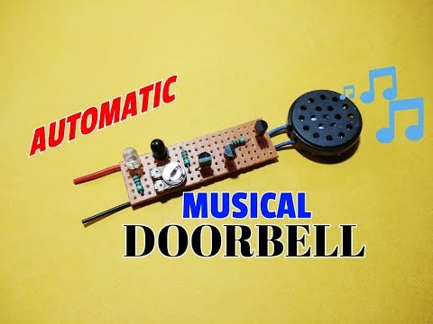 Touchless Automatic Musical Doorbell..Proximity Sensor Without Any IC..Simple IR Sensor..