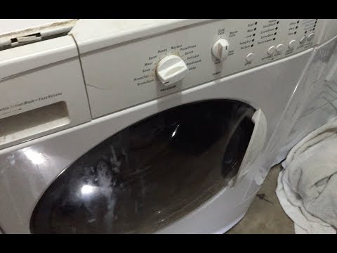 How To Fix Kenmore Front Load Washer That Won't Drain