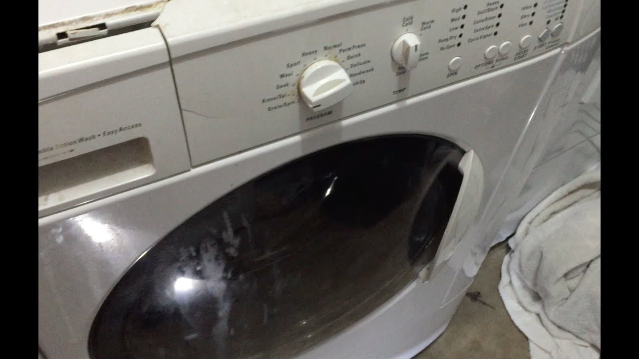 How To Fix Kenmore Front Load Washer That Won T Drain