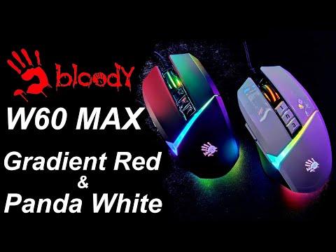 Мышь Bloody W60 Max USB Gradient Red (4711421955201)
