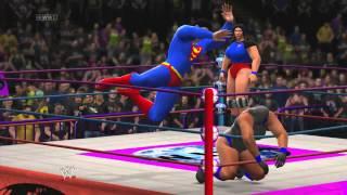 WIWA Wrestling Match #63: Superman vs Sleeker