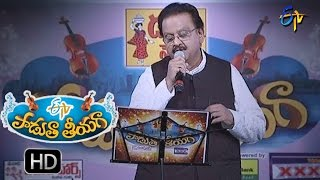 Okkadai Ravadam Song Sp Balu Performance in ETV Padutha Theeyaga   3rd October 2016