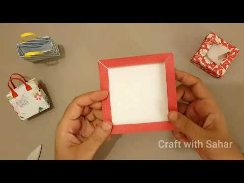 Origami Box Easy | How To Make Tiny Tissue Box With Paper | DIY Small  Box | Easy Paper Crafts