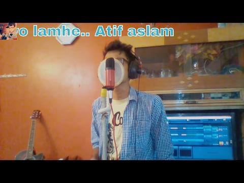 Atif Aslam - woh lamhe sad (cover) Zeher