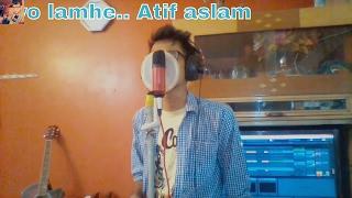 Atif Aslam - woh lamhe sad (cover)|Zeher