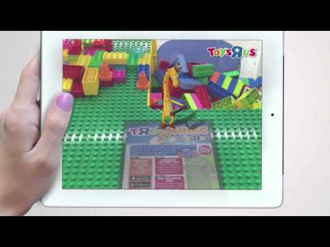 Augmented Reality Easter Egg Hunt - Toys R Us