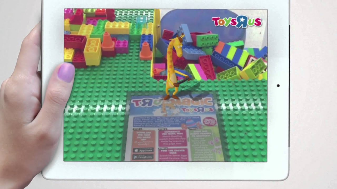Augmented Reality Easter Egg Hunt Toys R Us