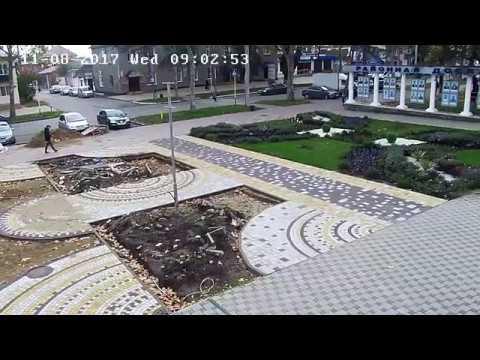 Не пропустил пешехода. г.Кореновск, ул.Красная, кинотеатр. 8.11.2017