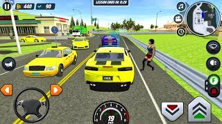 Driver's License Course #4 Muscle Car! - Car Game Android gameplay