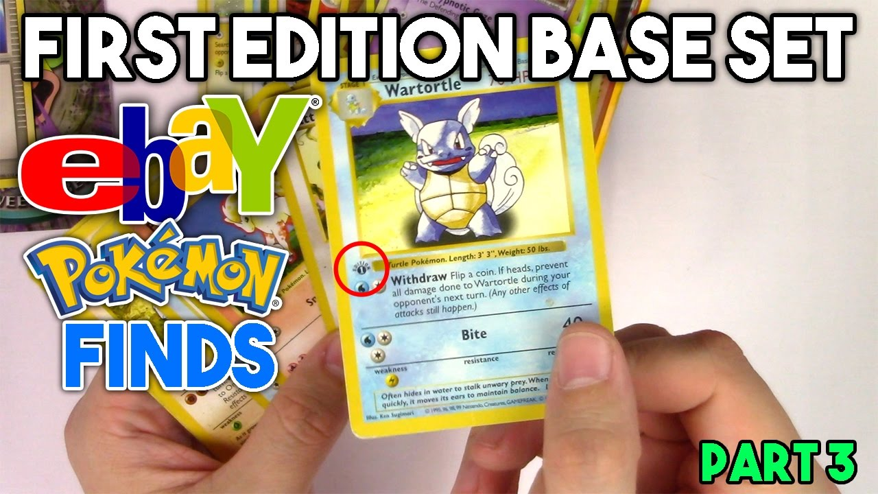 NO WAY! 1st Edition Shadowless Base Set Card in this Ebay Pokemon Card  Collection Find!