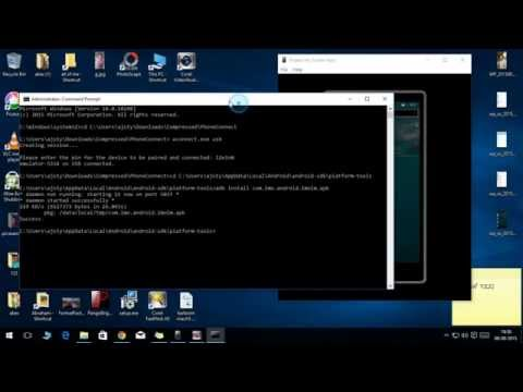 INSTALL Android APP IN Windows PHONE -Project Astoria