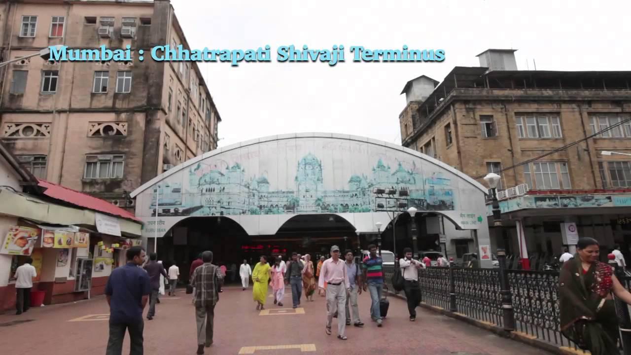 Mumbai : Chhatrapati Shivaji Terminus - YouTube  Mumbai : Chhatr...