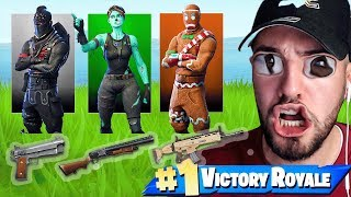 GUN GAME Modus in FORTNITE Battle Royale !! 🔥😱