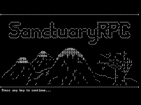 Before You Play Sanctuary RPG: Black Edition |