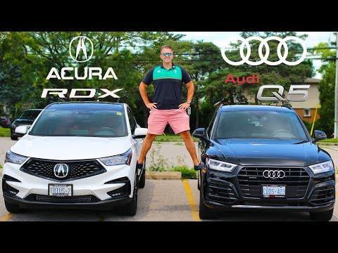 2020 Acura RDX A Spec VS Audi Q5 Technik SLine | See Which Luxury SUV Is Better | Comparison