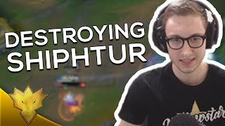 TSM Bjergsen - DESTROYING SHIPHTUR WITH ZOE! - League of Legends Stream Highlights