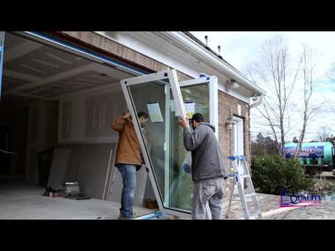 Euro-Wall Bi-Folding Door Installation | Door Replacement In Maryland