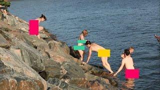 Хельсинки - концы в воду! Голышом в финской сауне (видео)