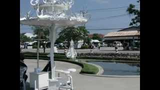 タイ旅行・チェンライツアー(2012年)ワットロンクン観光