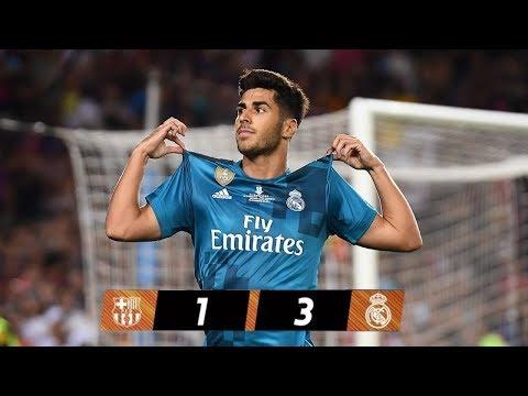 Full Spanish Super cup Match • Barcelona vs Real Madrid 1-3 • 13/08/2017 HD