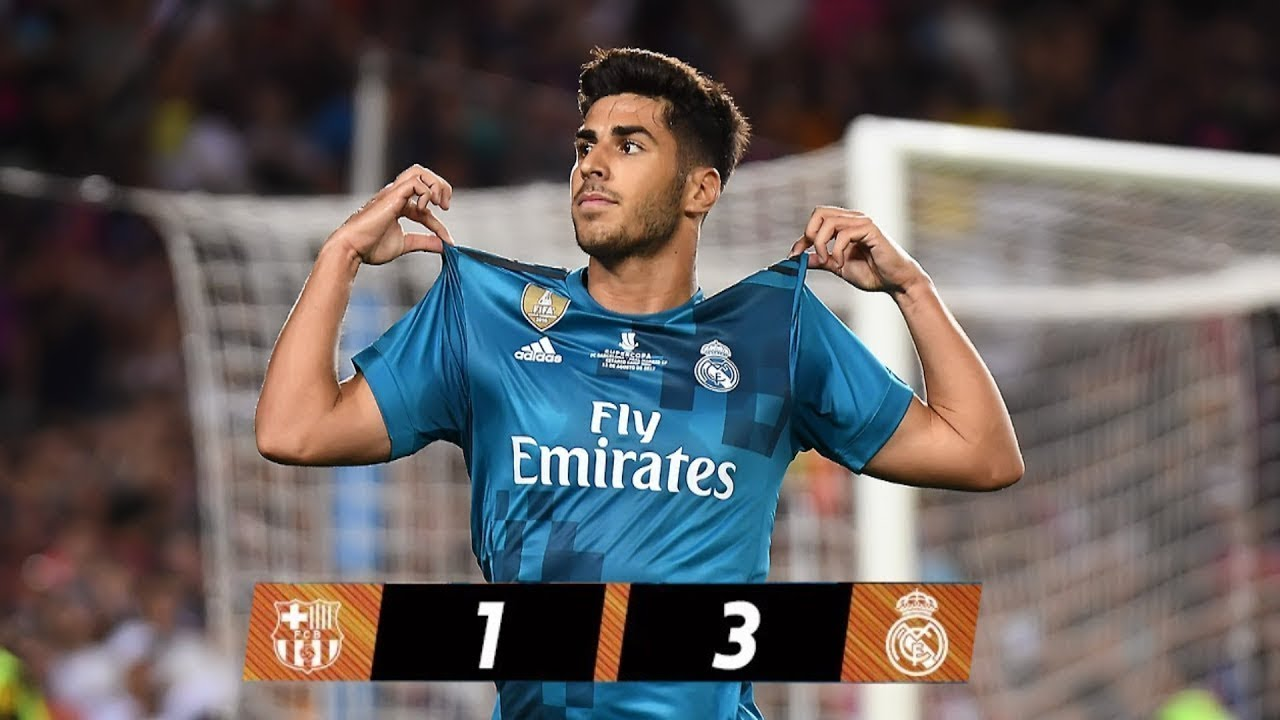 Download Full Spanish Super cup Match • Barcelona vs Real Madrid 1-3 • 13/08/2017 HD