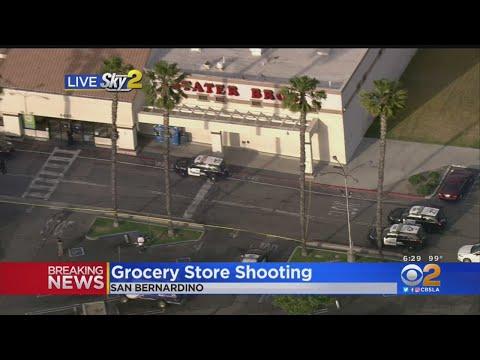 Shooting Inside San Bernardino Stater Bros. Market Leaves Man Dead
