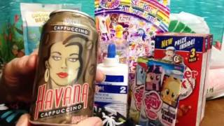 Dollar Tree Haul, Lisa Frank Stickers, My Little Pony, Groceries, Chewing Gum, Soft Spoken, ASMR