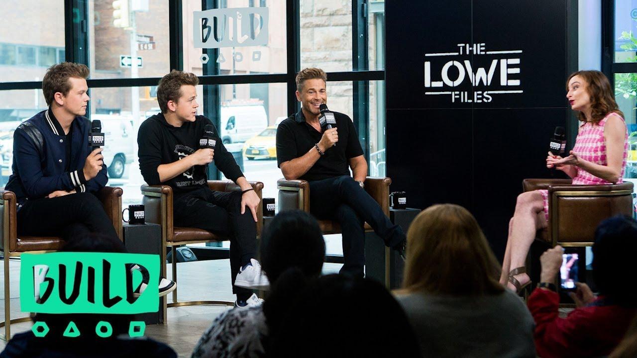 "Download Rob Lowe, Matthew Lowe And John Owen Lowe Discuss ""The Lowe Files"""