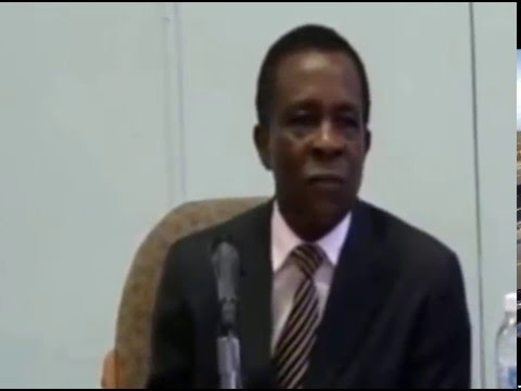 Grenada Prime Minister Dr Keith Mitchell speaks about hosting of sporting events in 2016
