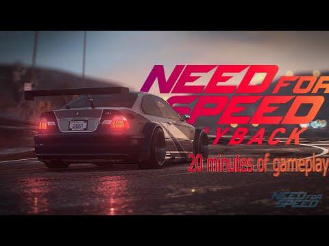 20 Minutes Gameplay Of Need For Speed Payback (или почему там тупой сюжет!?)
