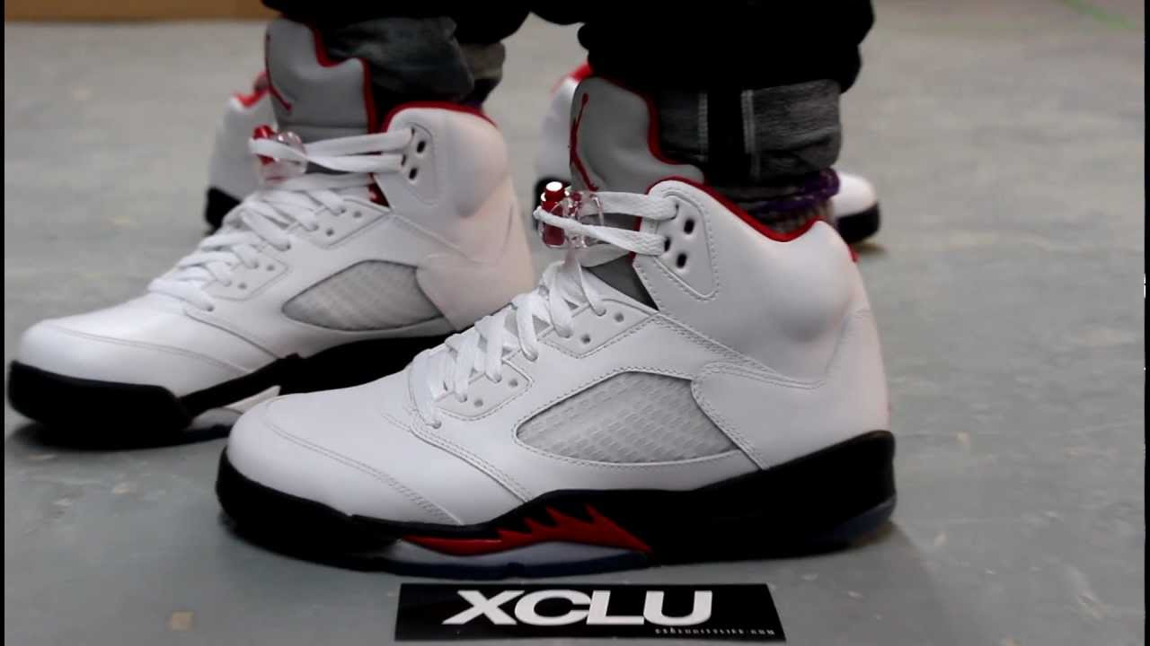 air jordan retro 5 fire red