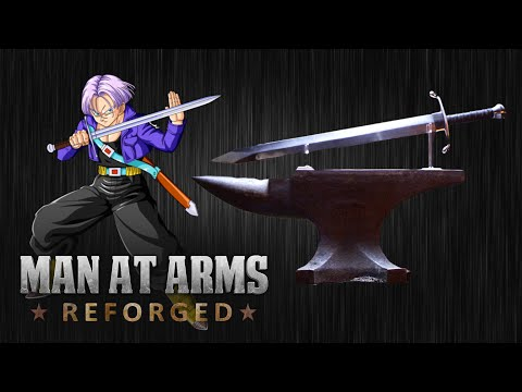Trunks Sword – Dragon Ball Z – MAN AT ARMS: REFORGED