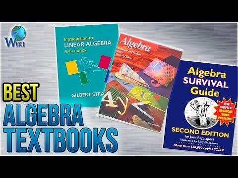 10 Best Algebra Textbooks 2018