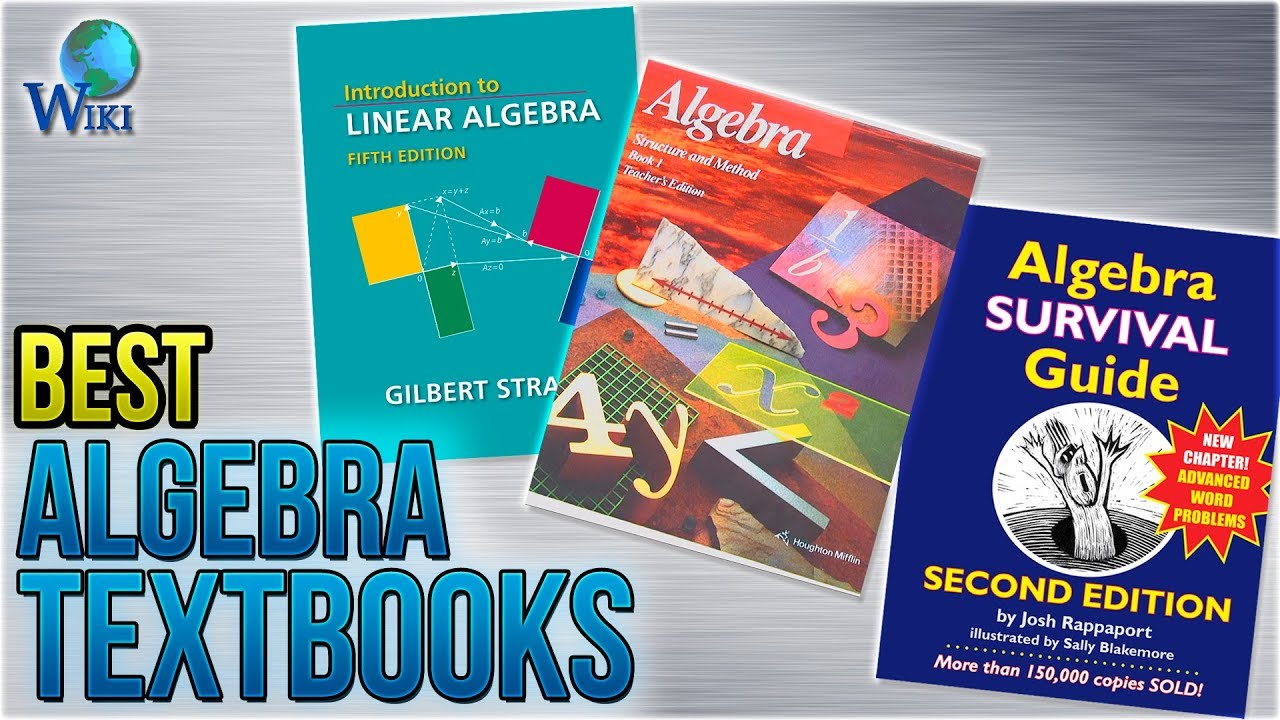 10 Best Algebra Textbooks 2018