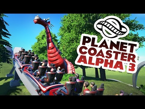 Planet Coaster Alpha 3 Gameplay - History Park! - Let's Play Planet Coaster Alpha 3 Part 1