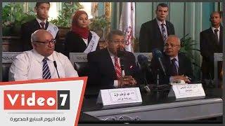 """بالفيديو.. وزير التعليم العالى من جامعة عين شمس: """"البلد لا تتحمل إضاعة الوقت"""""""