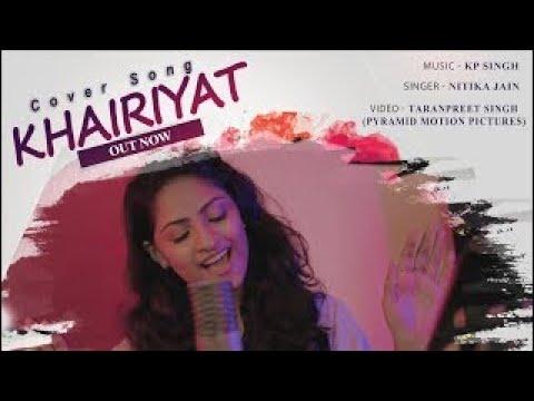 khairiyat-|-cover-by-nitika-jain-ft.-kp-singh-music-|-arijit-singh-|-pritam-|-chhichhore