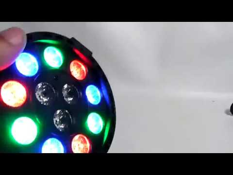 OPPSK Stage Lights with 12 LED Par RGB Lighting by Remote Pretty nice stage light and VERY easy to u