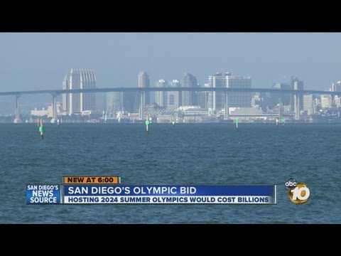 San Diego asked to make a bid to be 2024 Summer Olympics host
