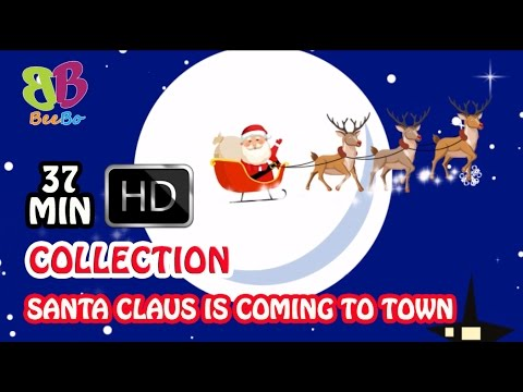 Santa Claus Is Coming to Town Collection 2017 | Popular Nursery Rhymes for Kids | BeeBo World