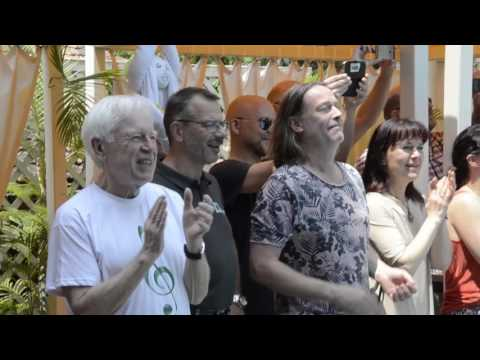 Deltin Suites Staff Surprises Legendary Pop Band ABBA With A Flash Mob