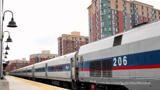 Amtrak & Metro-North action at Yonkers Station